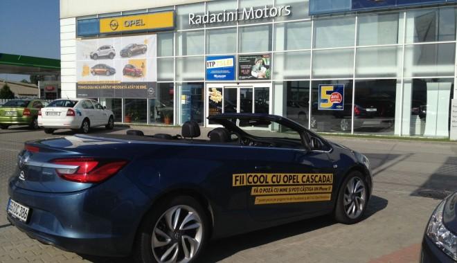 Foto: Răzvan Fodor a adus Opel Cascada la Rădăcini Motors Constanţa