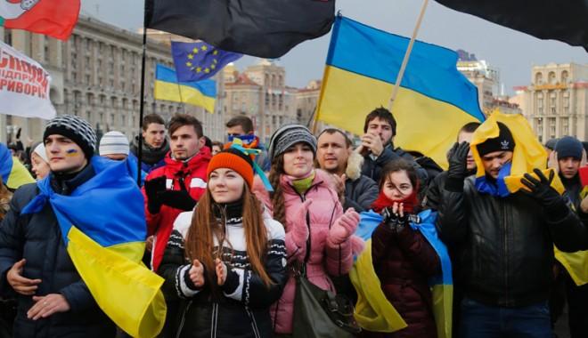Foto: Opoziţia ucraineană menţine presiunea în stradă