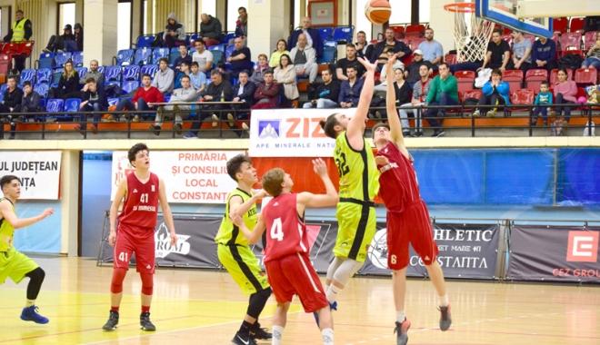 Foto: Opt cluburi de juniori reprezintă Constanţa la Naţionalele de baschet
