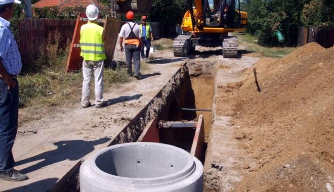 Foto: Opt comune din judeţul Vrancea vor fi racordate  la reţeaua  de canalizare