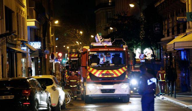 Foto: Opt morţi şi 30 de răniţi într-un incendiu violent la Paris