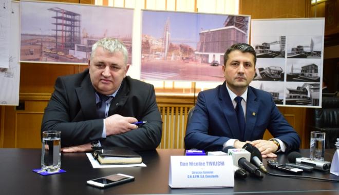 """Foto: """"Oraşul-port Constanţa va redeveni a doua putere economică a României"""""""