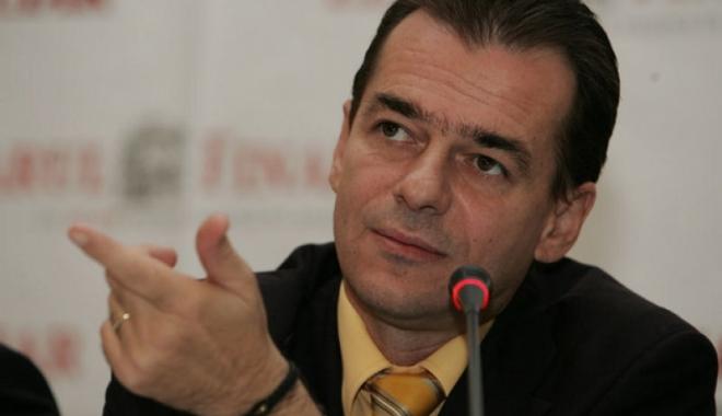 Foto: Ludovic Orban, noul preşedinte al Partidului Naţional Liberal
