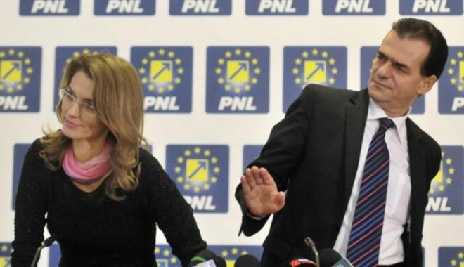 Foto: Ludovic Orban o somează  pe Alina Gorghiu să prezinte public obiectivul politic al PNL