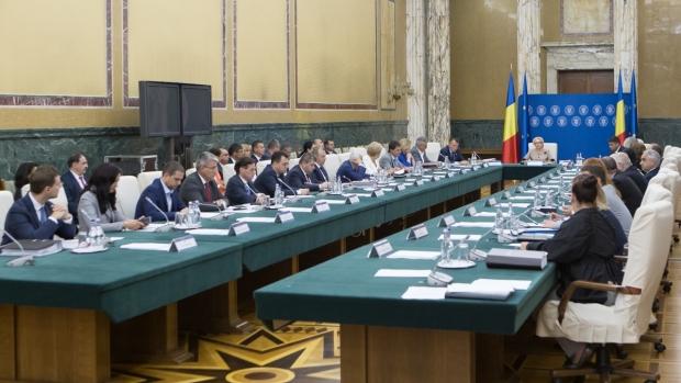 """Foto: Guvernul discută azi proiectul de buget pe 2019, precum şi modificări ale Ordonanţei care instituie """"taxa pe lăcomie"""""""