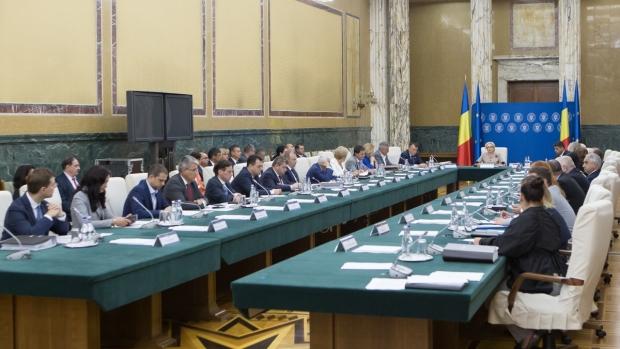 Foto: Şedinţă de Guvern, marţi. Executivul ar putea adopta hotărârea înfiinţării Fondului Suveran