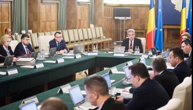 Foto: Şedinţa extraordinară de guvern pentru noile măsuri fiscale, amânată din nou?