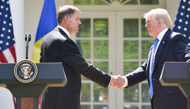 Foto: Reuniune ANULATĂ. Klaus Iohannis nu se mai întâlneşte cu Donald Trump
