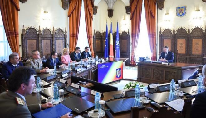 Foto: Ședință CSAT, după mesajul dur al Departamentului de Stat al SUA