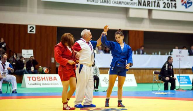 Foto: O sportivă de la CS Farul ţinteşte titlul mondial la sambo