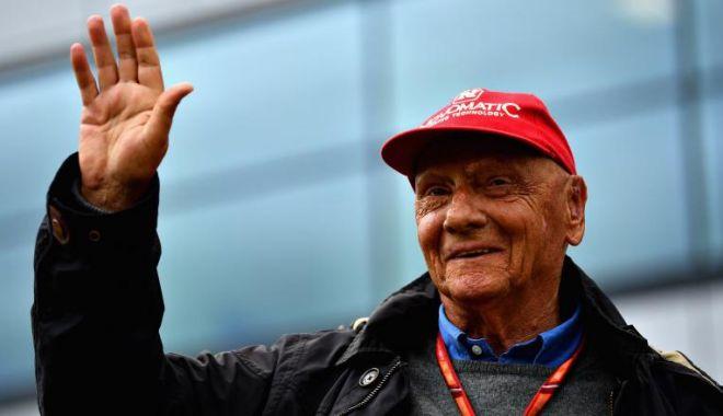Foto: Niki Lauda, unul dintre cei mai mari piloți de Formula 1, a murit