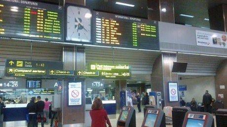 Alertă de securitate pe Otopeni. Cursă TAROM amânată, pasagerii au fost debarcați - otopeniaeroportpoza60173400-1552856900.jpg