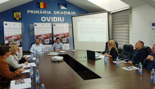"""Foto: Proiect de interes major la Ovidiu.  """"Nu vrem să concurăm cu ISU Dobrogea"""""""