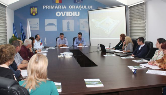 Foto: Primarul George Scupra a obținut finanțare pentru Castrul Roman de la Ovidiu. Ce se va întâmpla  cu monumentul