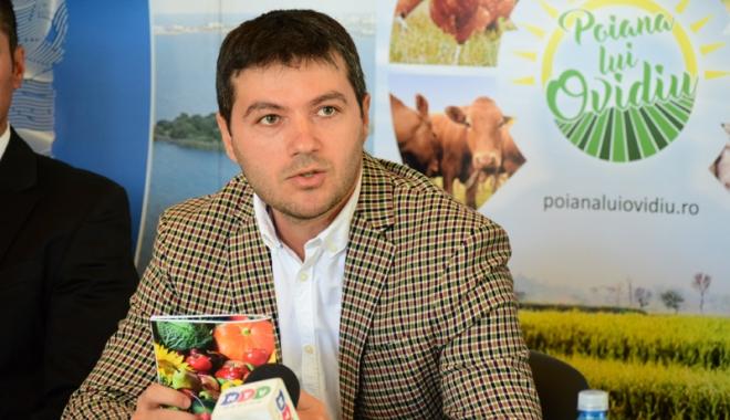 """Foto: Primăria Ovidiu, sprijin pentru producătorii agricoli. Edilul George Scupra a lansat Asociaţia """"Poiana lui Ovidiu"""""""