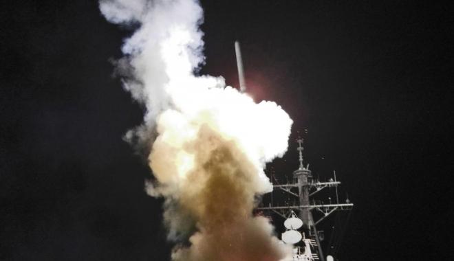Foto: FOTO-VIDEO. A ÎNCEPUT RĂZBOIUL. SUA ATACĂ SIRIA. AU FOST LANSATE 59 DE RACHETE. RUSIA REACŢIONEAZĂ