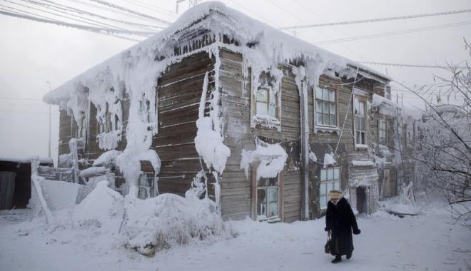 Foto: A fost ger la Constanţa? Să vedeţi cum e viaţa la -80 de grade C. Care sunt cele mai friguroase localităţi din lume