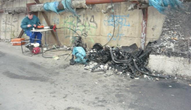 Tânăr mort într-un grav accident în zona podului de la Doraly. GALERIE FOTO - p1050442-1352881522.jpg