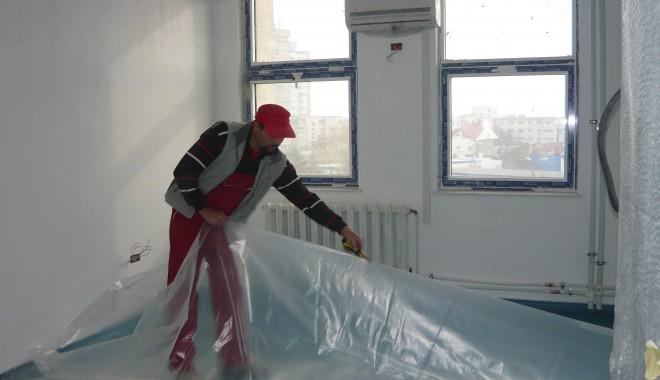 Foto: Vezi aici �n ce stadiu sunt renov�rile Spitalului Jude�ean  GALERIE FOTO