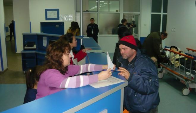 Foto: Urgenţa Spitalului Judeţean, în acută criză de medici