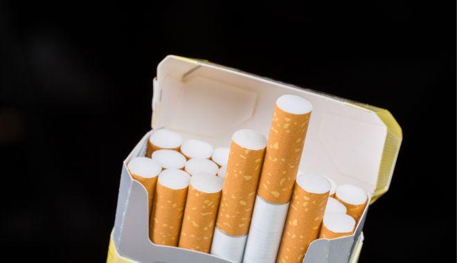 Foto: Contrabandist de ţigări, prins de poliţiştii constănţeni