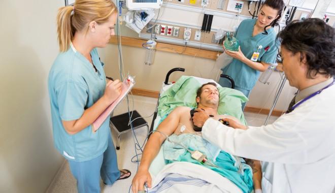 Foto: Noi proceduri de tratare a pacienţilor critici