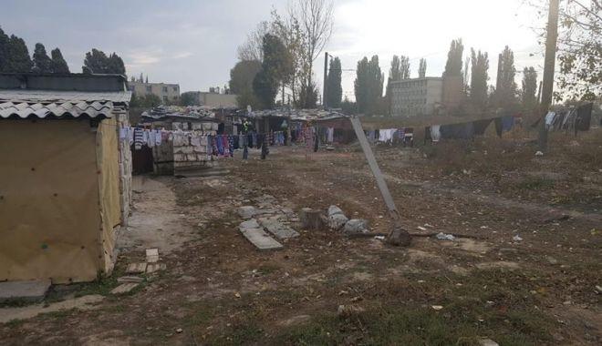 Foto: Amenzi urmate de igienizare, în cartierul constănţean Palas