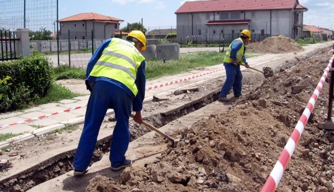 Foto: INS. Mai puţin de jumătate din români, conectaţi la sistemul de canalizare