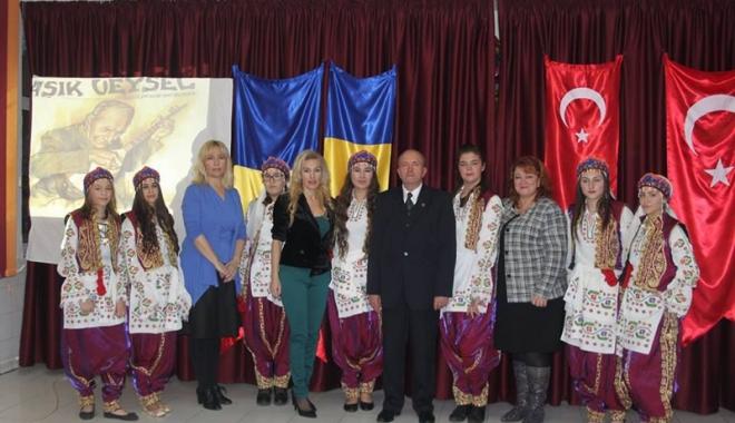 Foto: Palmaresul concursului  de poezie dedicat unui poet turc