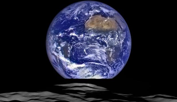 """Foto: Studiu NASA: Pământul """"se clatină"""" din cauza unei suprasarcini laterale"""