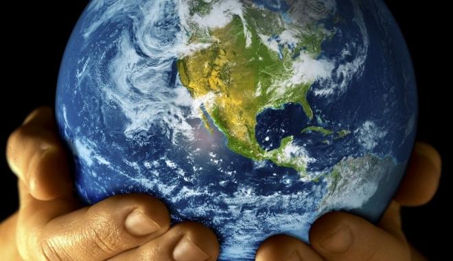 """Foto: """"Pământul nostru - Casa noastră"""", proiect la Agenţia Judeţeană de Mediu"""