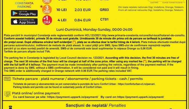 Începe taxarea locurilor de parcare din Constanța. Prima tarifare, din 18 iunie! - panourideinformare1-1623856448.jpg