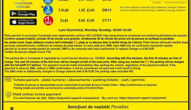 Începe taxarea locurilor de parcare din Constanța. Prima tarifare, din 18 iunie! - panourideinformare2-1623856463.jpg
