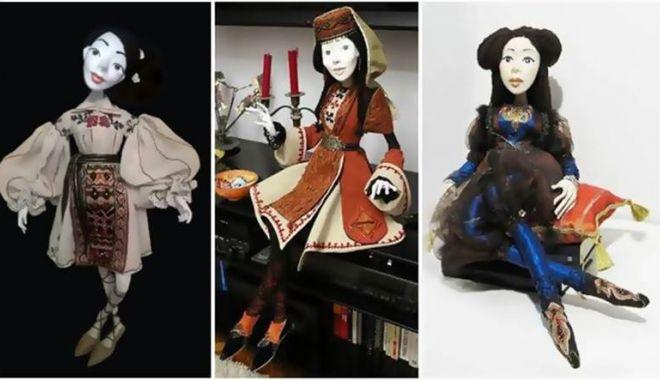 """Foto: Păpuși simbolice cu marcă identitară"""", la Muzeul de Artă Populară Constanța"""