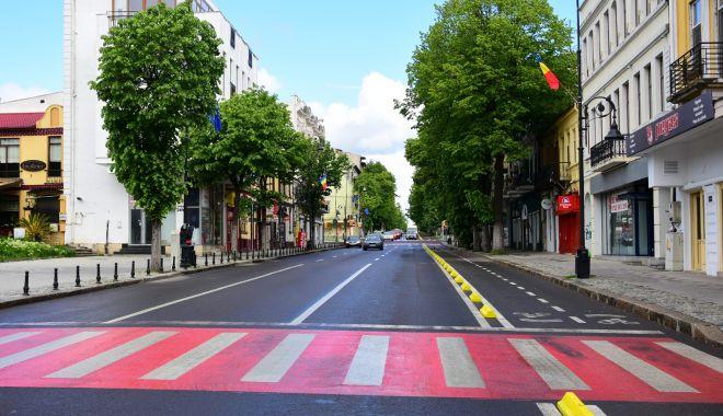 Foto: Trafic restricționat pe străzile Constanței, de Ziua Europei