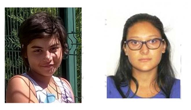 Foto: Parcă le-a înghiţit pământul! Două fete căutate de poliţişti şi familii