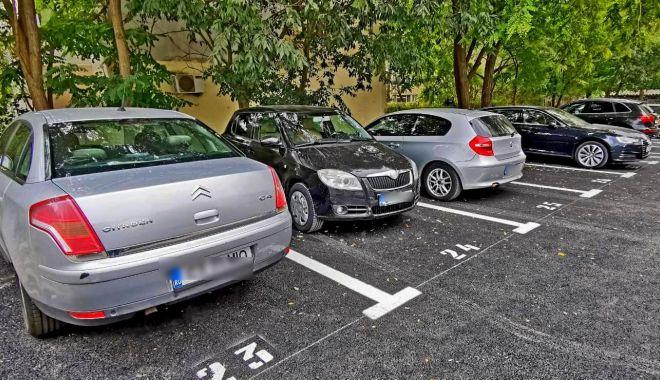 O nouă parcare a fost amenajată în cartierul Tomis Nord - parcare3-1601646778.jpg