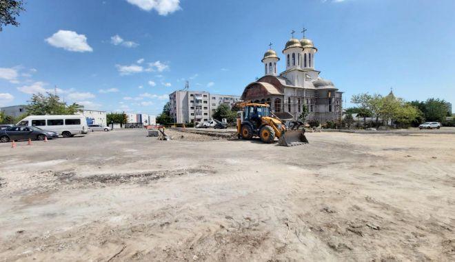 Foto: Primăria Constanța a amenajat o nouă parcare cu 300 de locuri