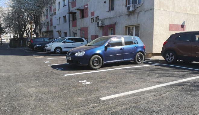 Foto: O nouă parcare va fi dată în folosinţă, la Constanţa