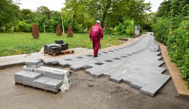 """Foto: Primarul Decebal Făgădău:  """"Parcul Arheologic este blestemul meu"""""""