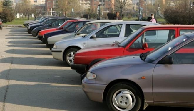 Foto: SPIT. Taxa de rezervare parcare, achitată la ghişeul de pe strada Ecaterina Varga