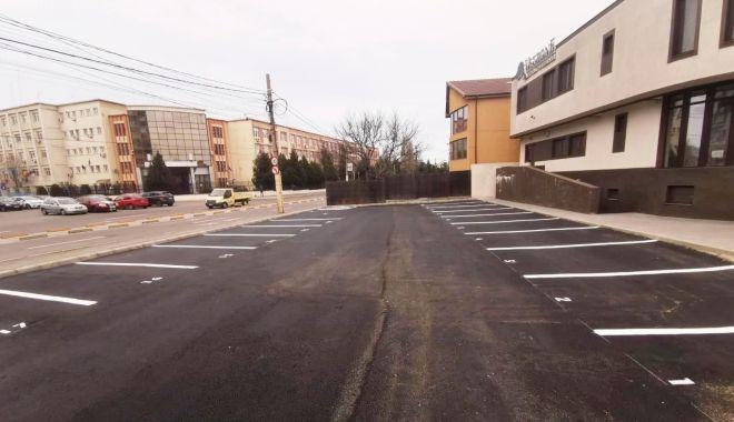 Foto: Noi locuri de parcare pentru constănțeni
