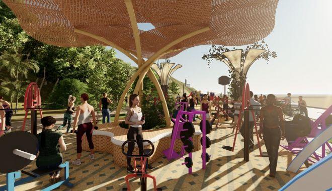Iubiţi sportul? Se amenajează un parc fitness pe plaja Modern! - parcfitness3-1627929261.jpg