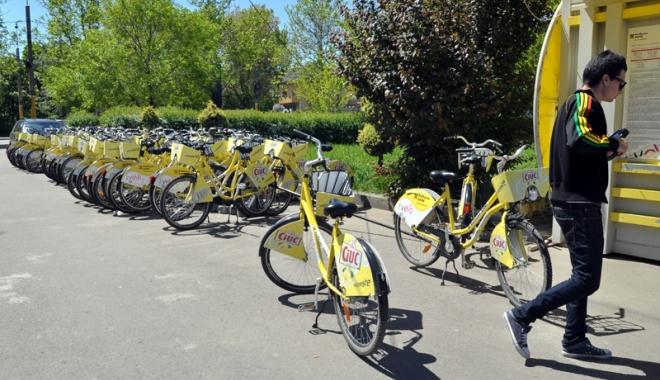 Foto: S-a redeschis centrul de închirieri biciclete I'Velo, din parcul Tăbăcărie