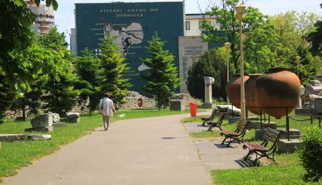 Foto: Parcul arheologic din Constanţa, reabilitat cu fonduri europene. Cum va arăta oaza de verdeaţă