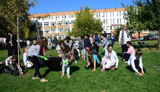 """Foto: Parcul de la Casa de Cultură ar putea deveni Parcul """"Trianon"""""""