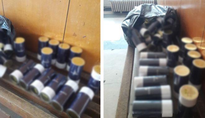 Foto: Parfumuri contrafăcute, confiscate la Vama Veche, la intrarea în ţară