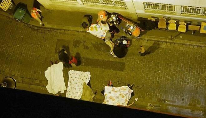 Foto: IMAGINI ŞOCANTE! CADAVRELE ZAC PE STRĂZI, DUPĂ ATENTATELE TERORISTE DIN FRANŢA