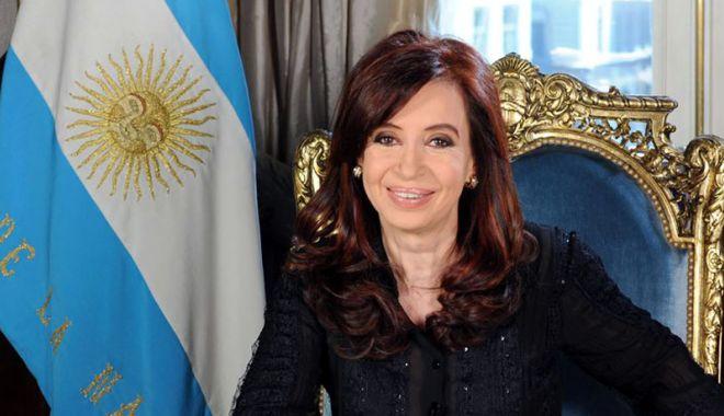 Foto: Parlamentul argentinian i-a ridicat imunitatea Cristinei Kirchner