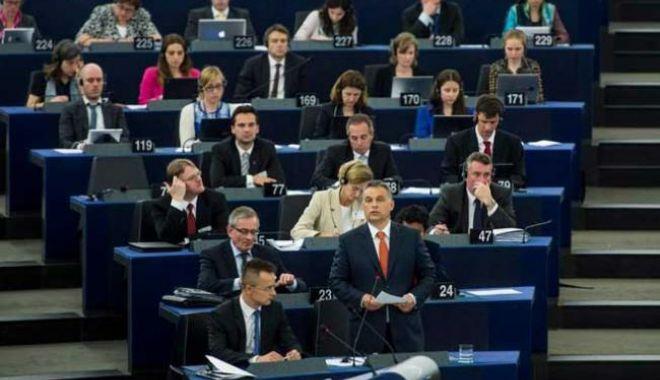 Foto: Parlamentul European a votat pentru sancționarea Ungariei